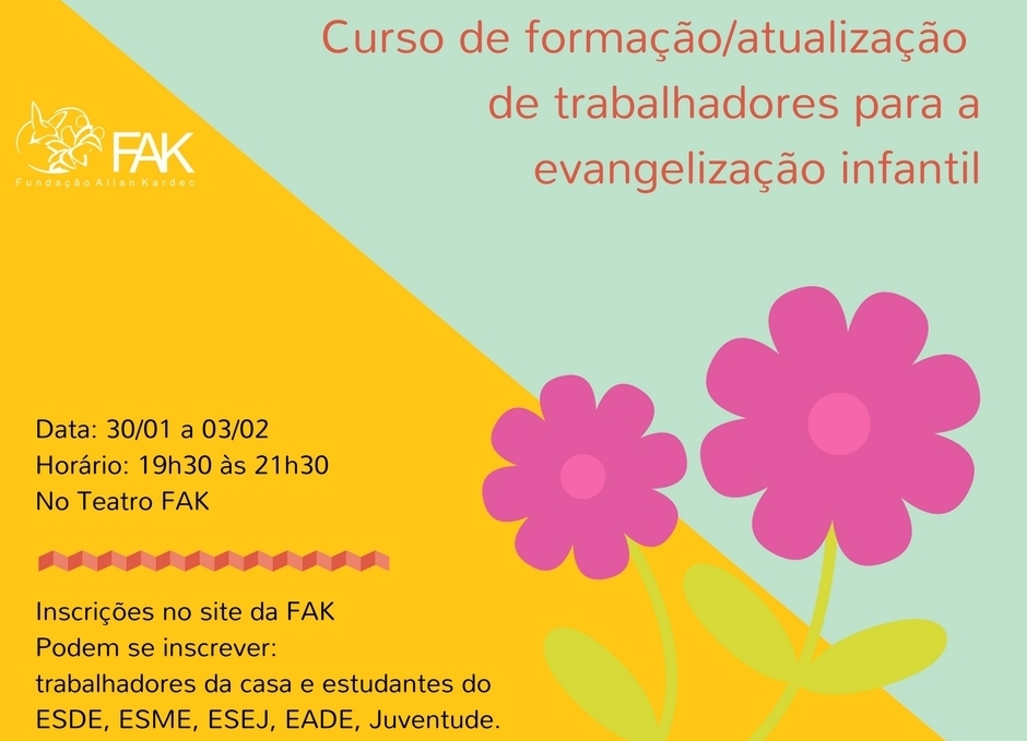 Curso de Formação Atualizaçãopara a evangelização infantil na FAK (3)